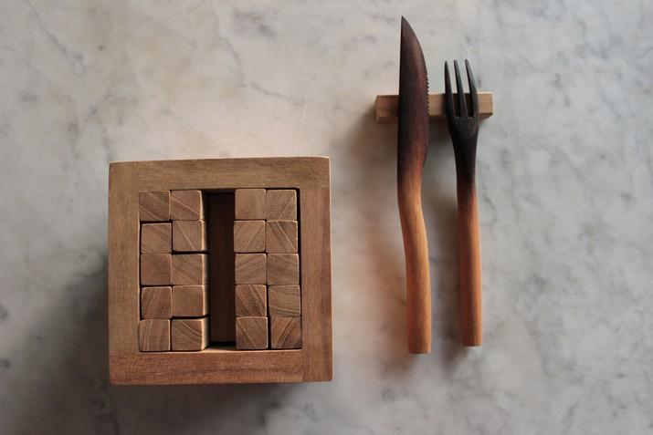 Porte couteaux djenga - Porte couteaux pour table ...
